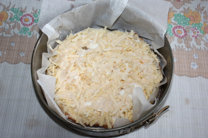 Гарячі бутерброди з сиром з узбецької коржі