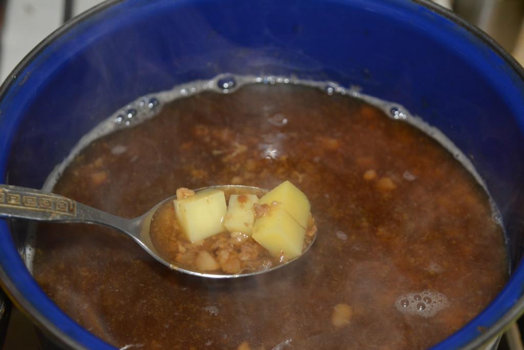 Суп-розсольник без м'яса і перловки
