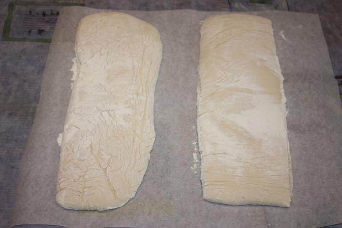 Італійський хліб Чіабатта в духовці