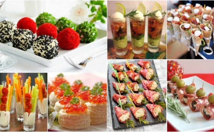 Холодні новорічні закуски і нарізки 2021 – нові рецепти і оформлення на Новий рік