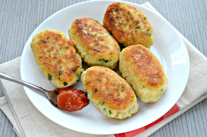 Картопляні биточки з сиром – простий і смачний гарнір