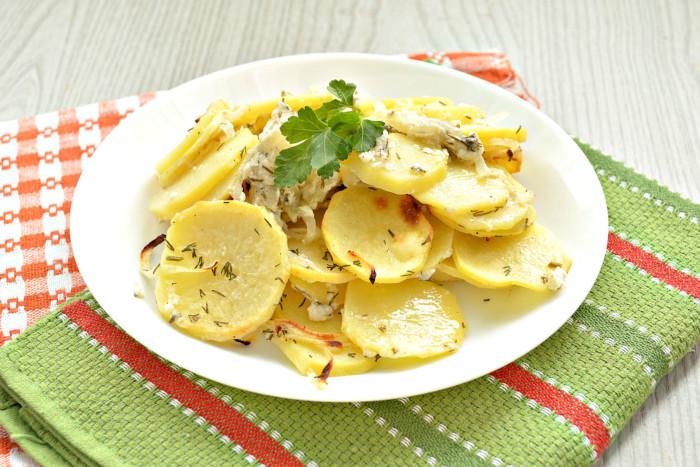 Запечена картопля в кефірі в духовці – просто, смачно і оригінально