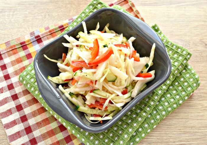 Овочевий салат з дайкона – простий і смачний