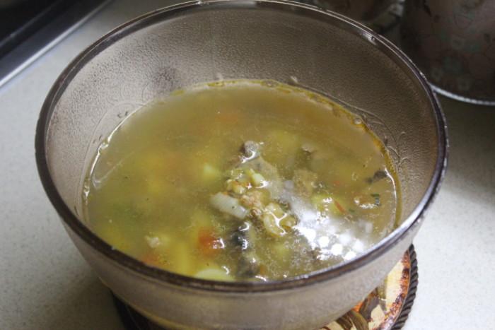 Овочевий суп Мінестроне зі свининою