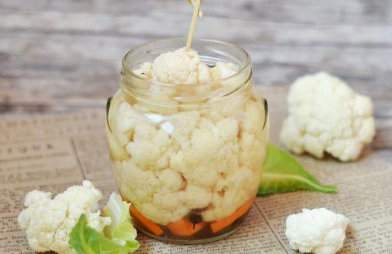 Квашена цвітна капуста – корисна закуска на зиму
