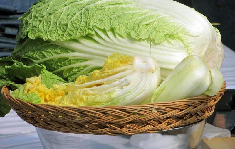 Квашена пекінська капуста на зиму, майже по-корейськи