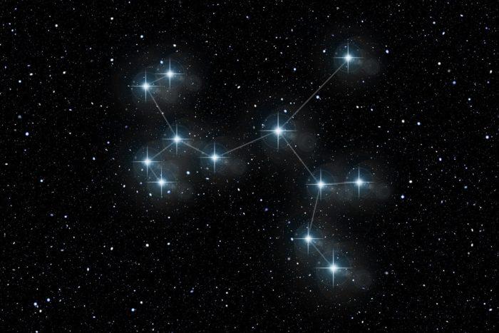 Гарна заставка на робочий стіл - сузір'я Бика