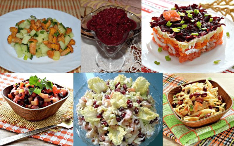 Пісні салати на Різдво – кращі святкові салати на Святвечір